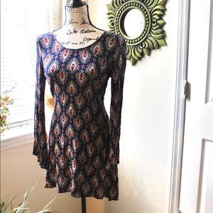 🐞🐞Boho multicolored Mossimo Supply Co. dress